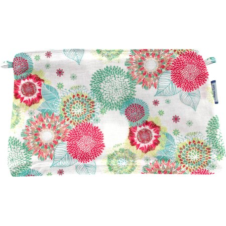 Coton clutch bag powdered  dahlia