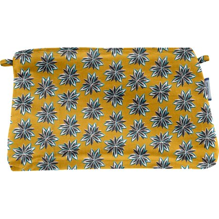 Coton clutch bag aniseed star