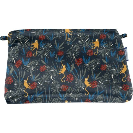 Coton clutch bag jungle party