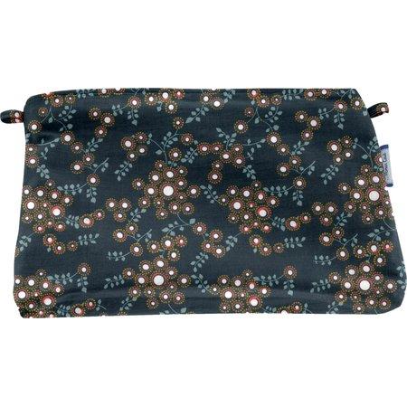 Coton clutch bag fireflies
