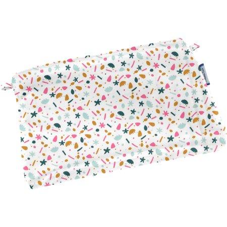 Tiny coton clutch bag sea side