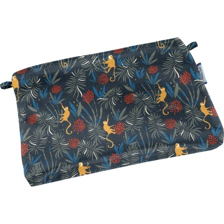 Tiny coton clutch bag jungle party