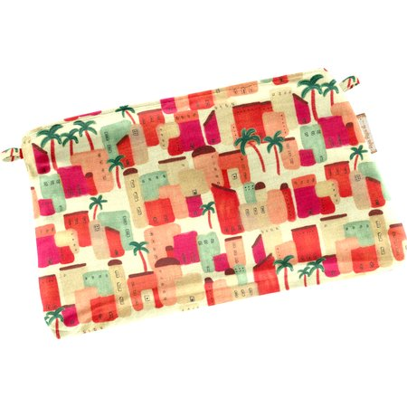 Tiny coton clutch bag medina