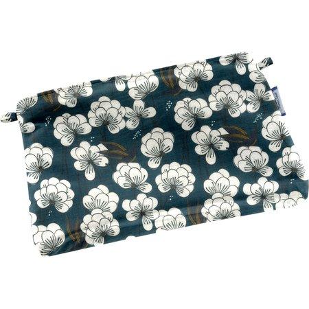 Mini pochette tissu paradis bleu