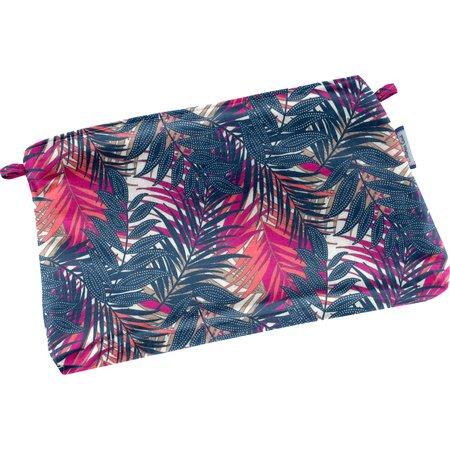 Mini pochette tissu tropical fire
