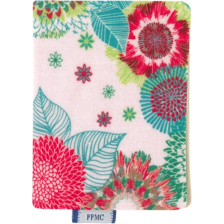 Card holder powdered  dahlia