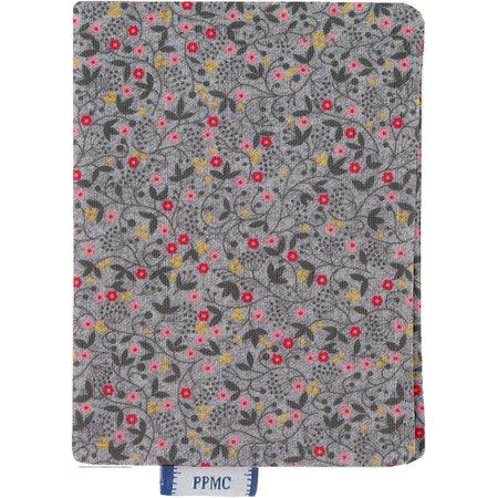 Porte carte liane fleurie