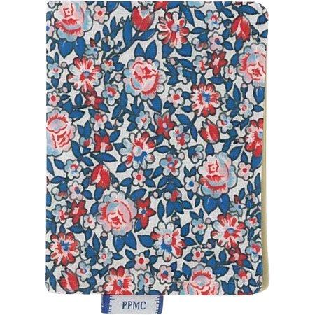 Porte carte london fleuri