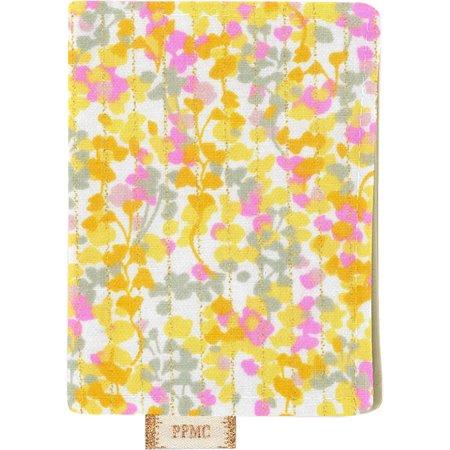 Card holder mimosa jaune rose