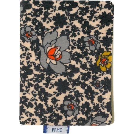 Card holder ochre flower