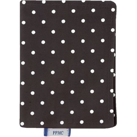 Card holder brown spots