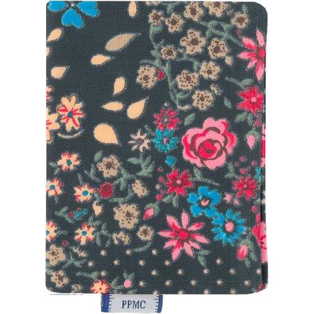 Porte carte rose argentée