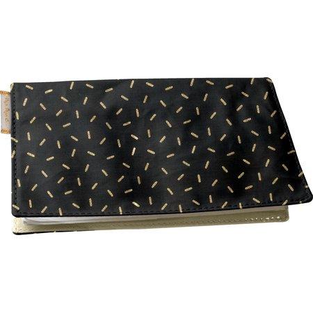 Chequebook cover golden straw