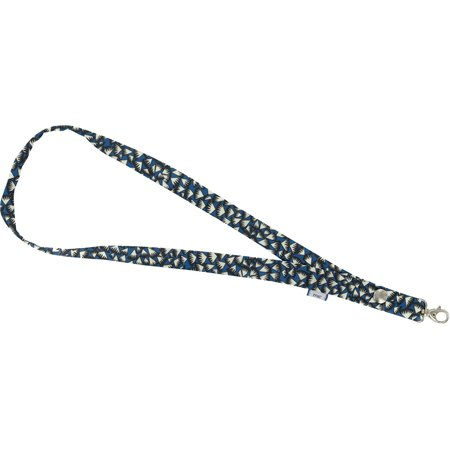 Lanyard necklace parts blue night