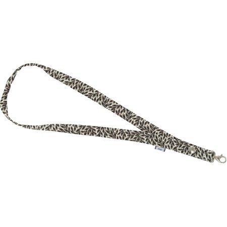 Porte-clés collier feuillage