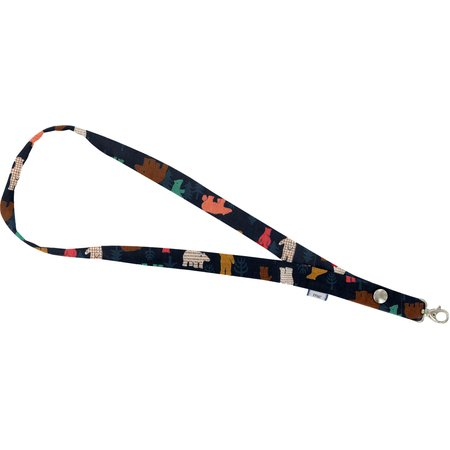 Lanyard necklace grizzly