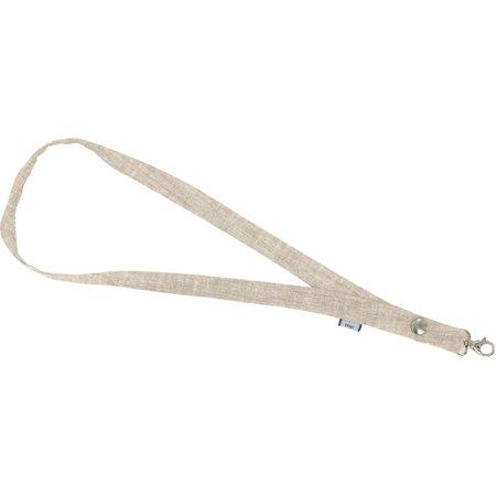 Porte-clés collier  lin pailleté