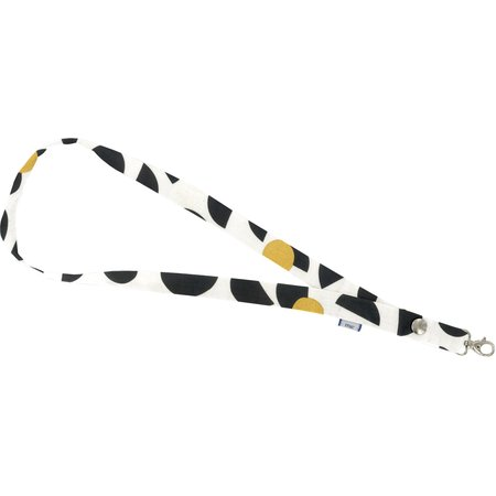 Porte-clés collier lune d'or