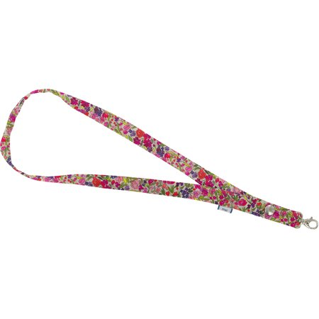 Lanyard necklace purple meadow