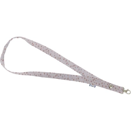 Porte-clés collier triangle cuivré gris