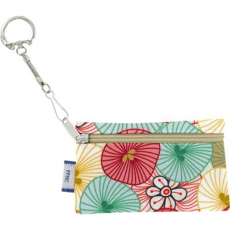 Pochette porte-clés  ombrelles