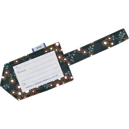 Luggage Tag fireflies