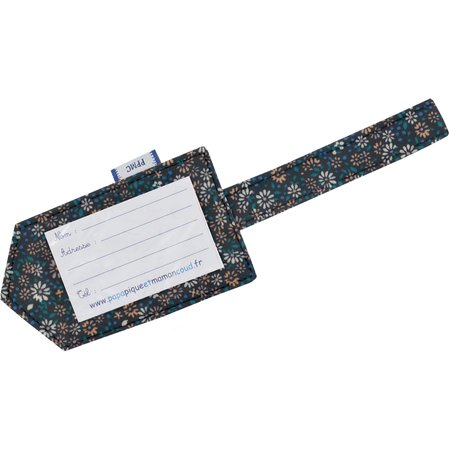 Luggage Tag paquerette marine