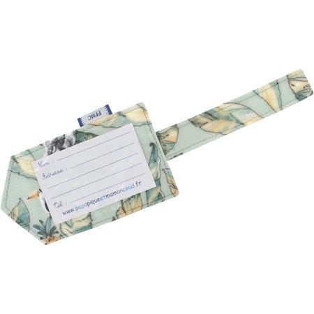 Etiqueta para equipaje paradizoo mint