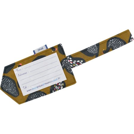 Luggage Tag hen facet