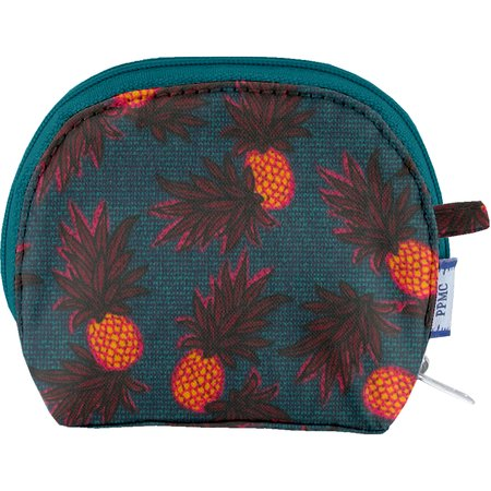 gusset coin purse pineapple party
