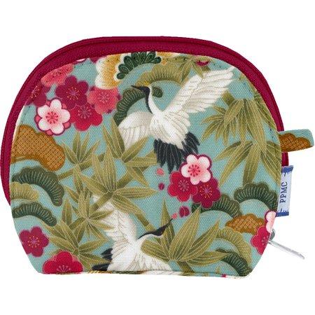 Porte-monnaie à soufflet ibis