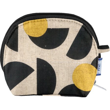 gusset coin purse golden moon