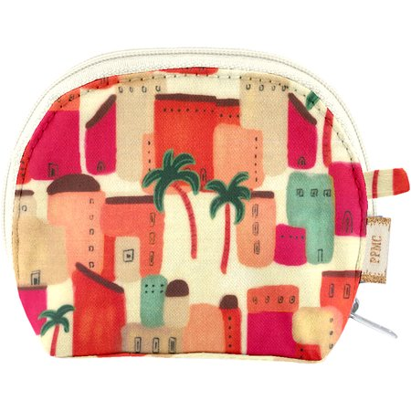 gusset coin purse medina