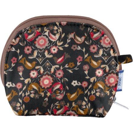 gusset coin purse ochre bird
