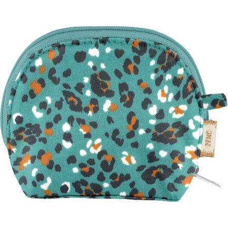 gusset coin purse jade panther