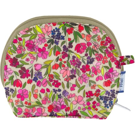 gusset coin purse purple meadow