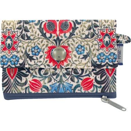 zipper pouch card purse azulejos