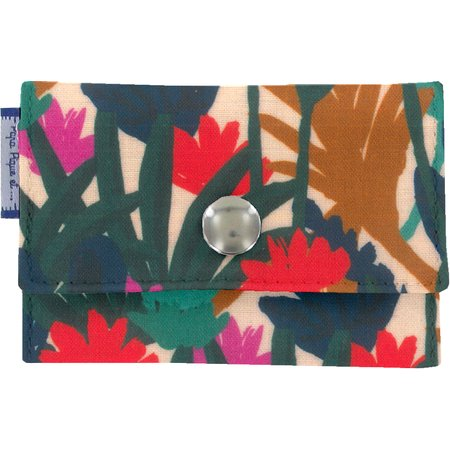 zipper pouch card purse canopée