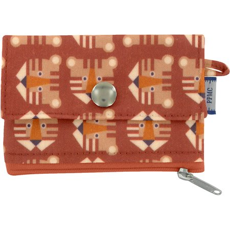 zipper pouch card purse géotigre