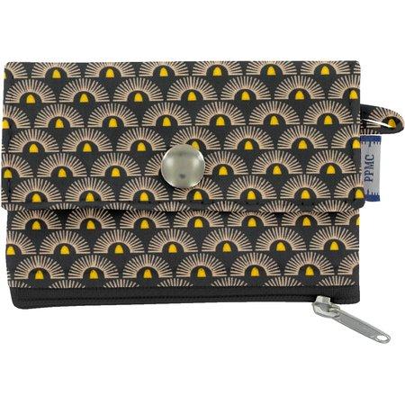 zipper pouch card purse inca sun