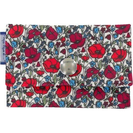 Multi card holder poppy