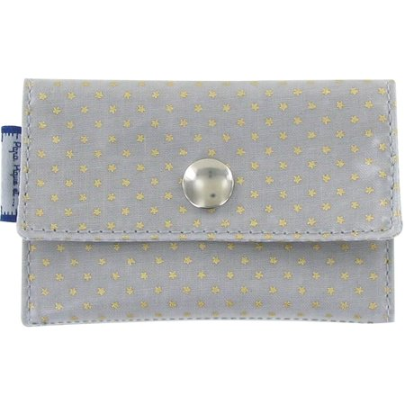 Multi card holder etoile or gris