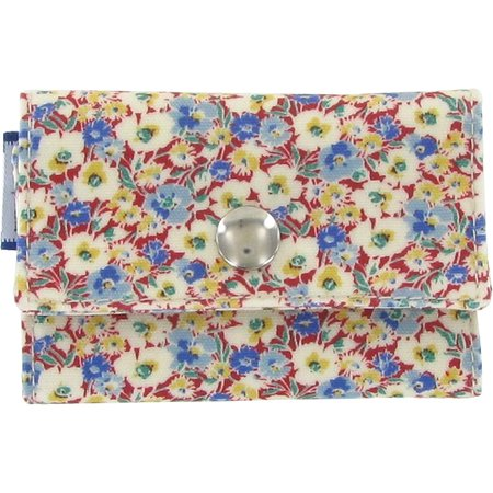 Porte multi-cartes oeillets jean
