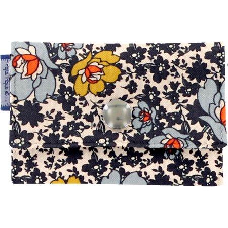 caja de tarjeta de banco flor ocre