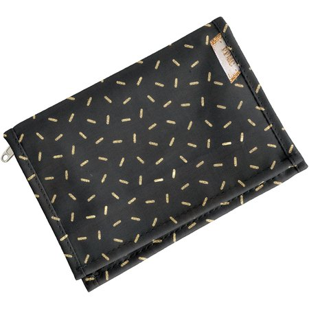 Compact wallet golden straw