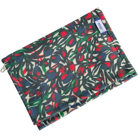 Compact wallet  tulipes