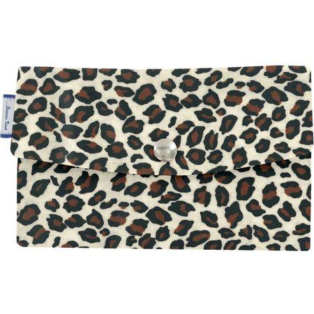 Wallet leopard print