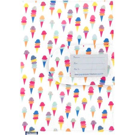 Health book cover ice cream