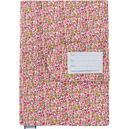 Protège carnet de santé jasmin rose