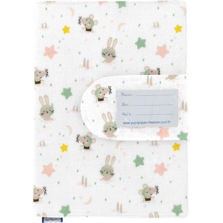 Protège carnet de santé souris rêveuses